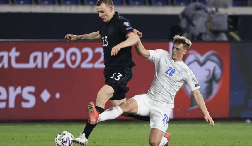 ฟุตบอลโลก 2022รอบคัดเลือก โซนยุโรป เยอรมัน พบ ไอซ์แลนด์