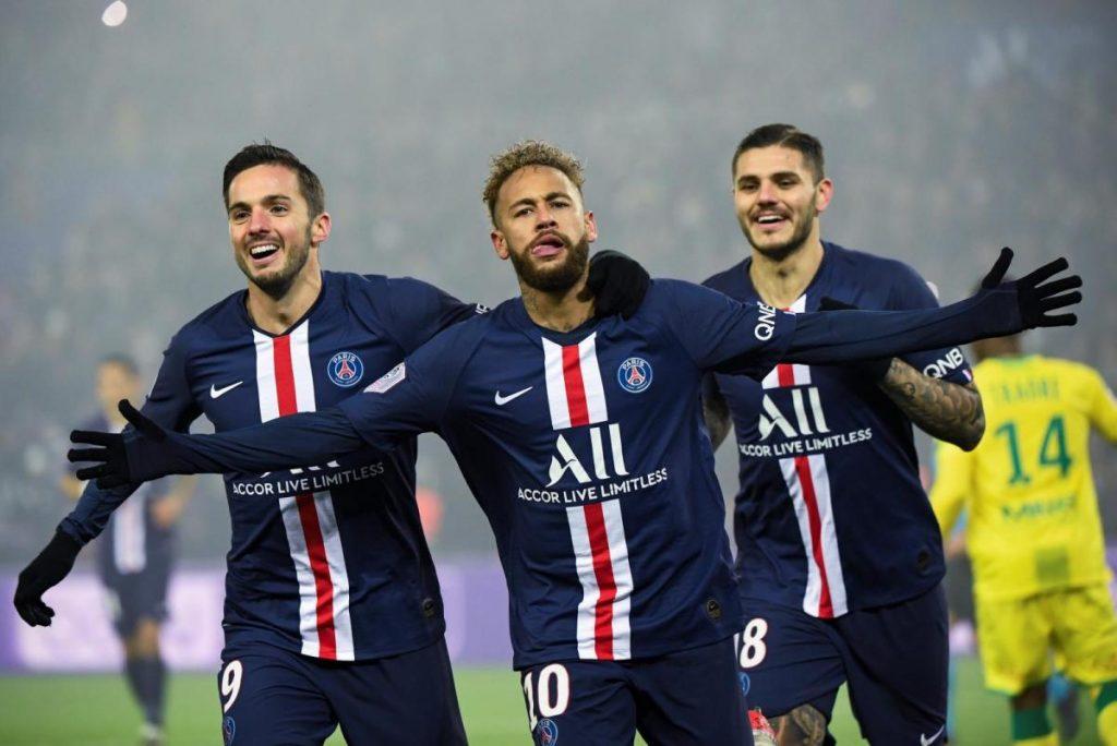 ฟุตบอลลีกเอิง 2020/2021 ปารีส แซงต์ แชร์กแมง พบ ล็องส์